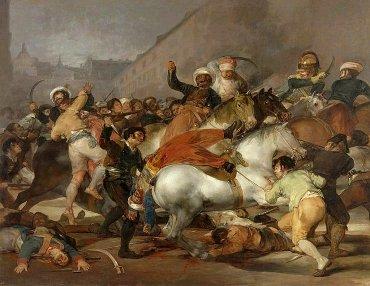 El 2 de mayo de 1808 de Goya