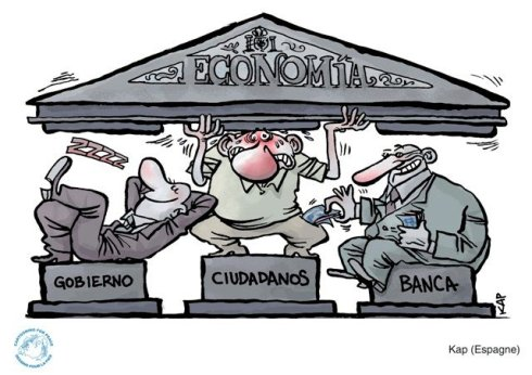 Kap: gobierno vs. ciudadanos vs. banca