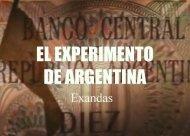 El experimento de Argentina (el trueque)