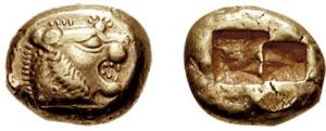 Monedas de Lidia