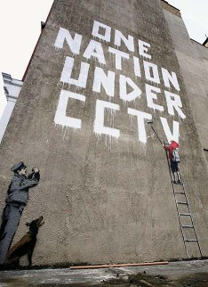 One nation under CCTV by Bansky