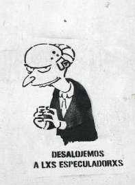 Mr. Burns en Ciudadanos en crisis