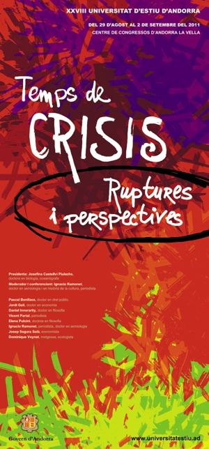 Tiempos de crisis, rupturas y perspectivas
