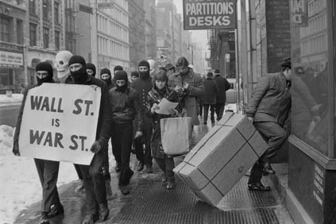 "Black Mask 1967 ""Wall St. is War St."""