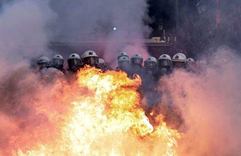 Atenas en llamas