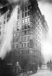 incendio en la fábrica Triangle Shirtwaist