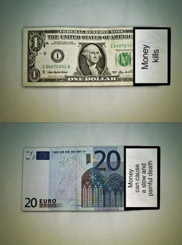 billetes con esquela