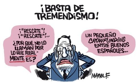 Rajoy quiere pedir un rescate sin decir rescate