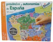 el puzzle de España
