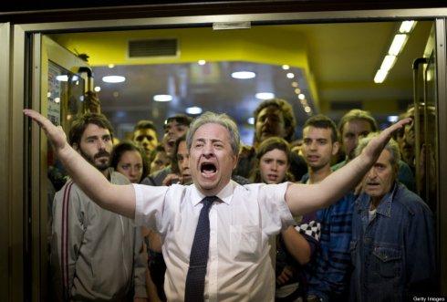 Alberto Casillas, el encargado de un bar que defendió a los manifestantes.