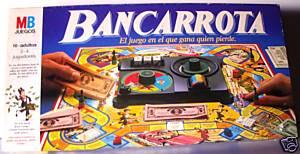 Juego de mesa Bancarrota