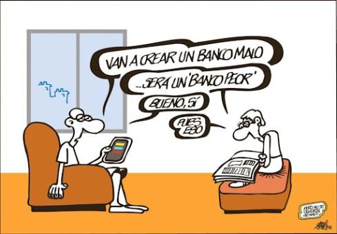 En España habrá un banco malo