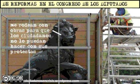 obras en el Congreso