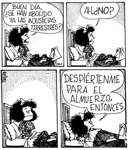 Quino Mafalda Injusticias