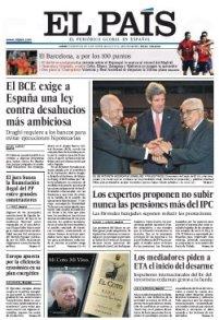 Cuidado no te envenenes con la tinta llena de pesimismo al pasar las páginas de cualquier periódico español.
