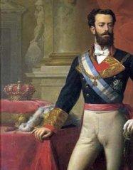Detalle del retrato de Amadeo I (rey 1870-1873)