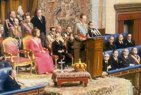 Juramento de Juan Carlos I como Rey de España (1975)