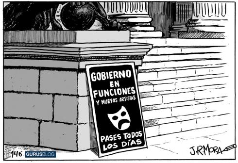 Gobierno en funciones por J.R. Mora