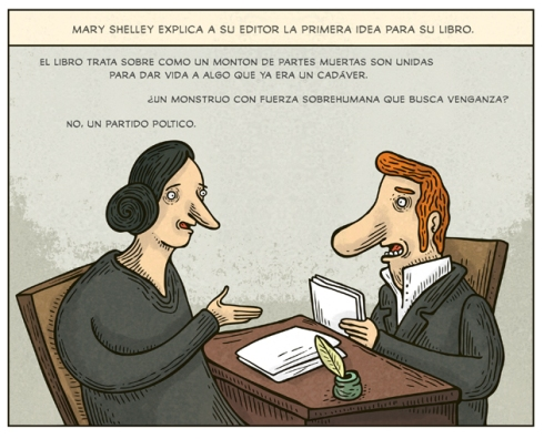Mary Shelley (Alberto Montt)
